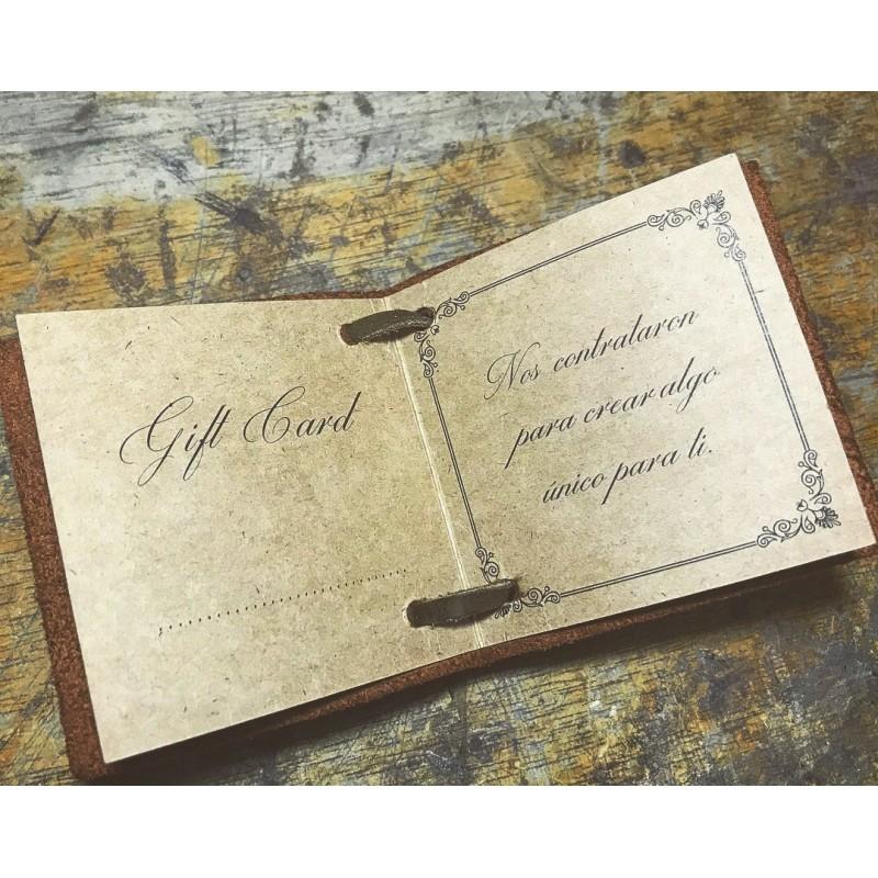 Tarjeta de regalo gift card S/.1200