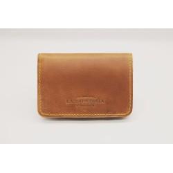 1656 billetera de cuero hecha a mano ranger caramelo